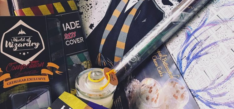 GeekGear World of Wizardry Box: January 2018