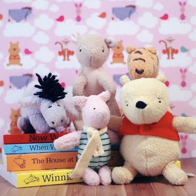 Theme Week: Winnie the Pooh and Friends