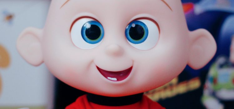 "Jakks Pacific ""Incredibles 2"" Jack-Jack Attacks Doll"