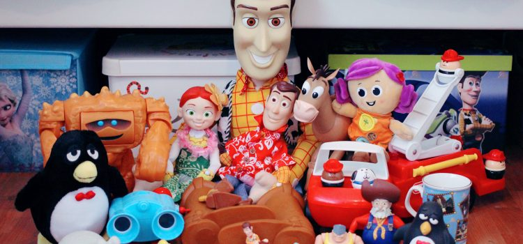 "Fave ""Toy Story"" Carboot Sale Finds – Part 1"