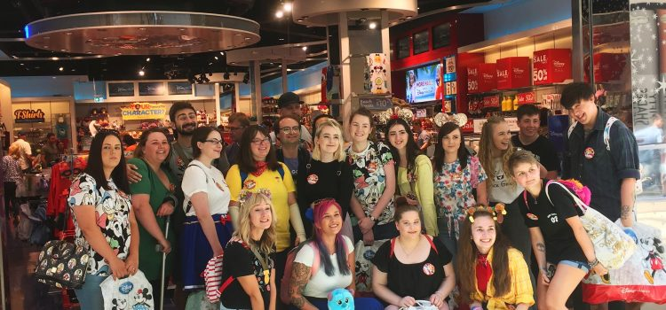 Cardiff Disney Store Instagram Meet Up