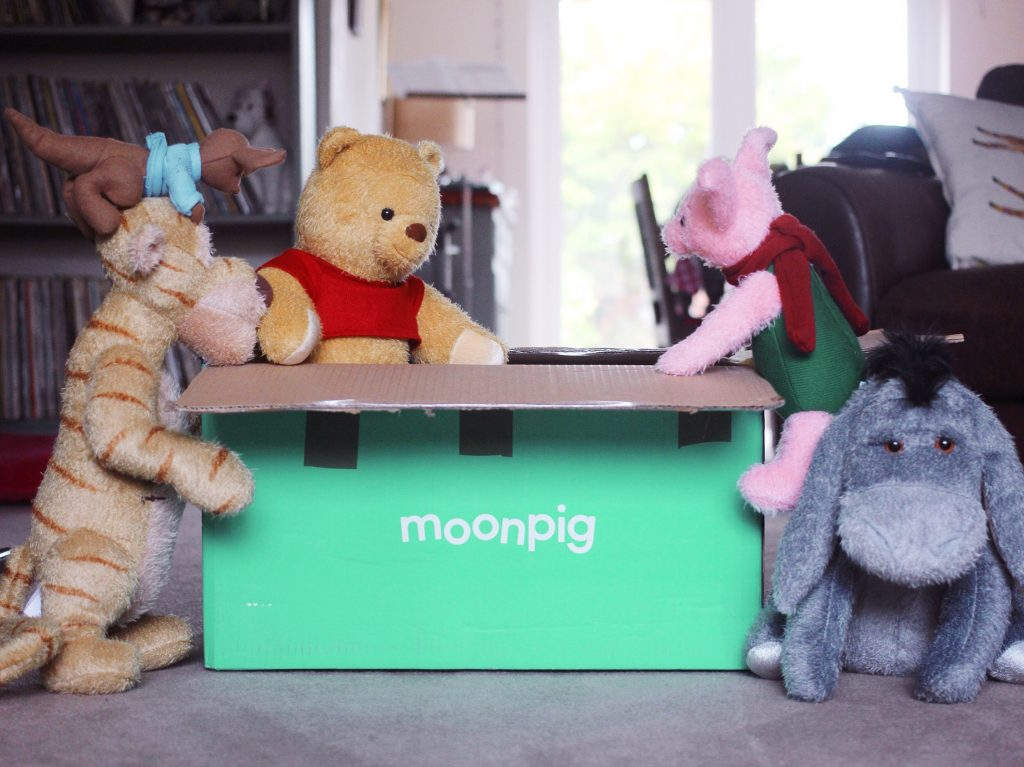 Winnie the Pooh Magic Mail from Moonpig