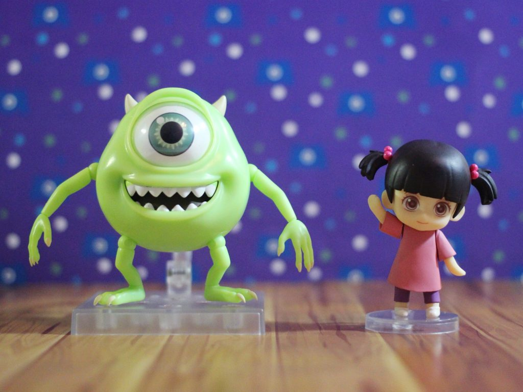 Mike & Boo Deluxe Nendoroid Figures