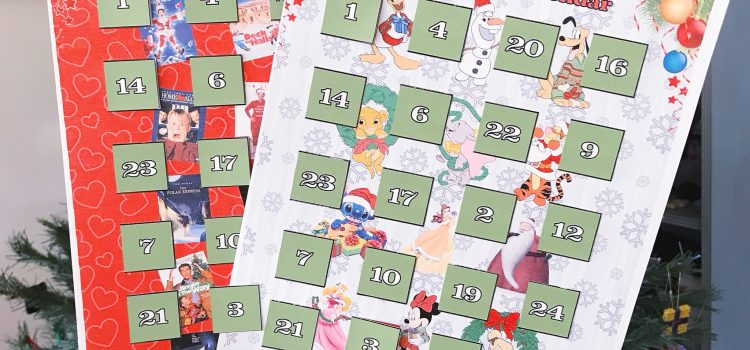Free Printable! – Christmas Movie Countdown Calendars!