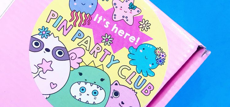 Sugar and Sloth Pin Party Club – January 2019