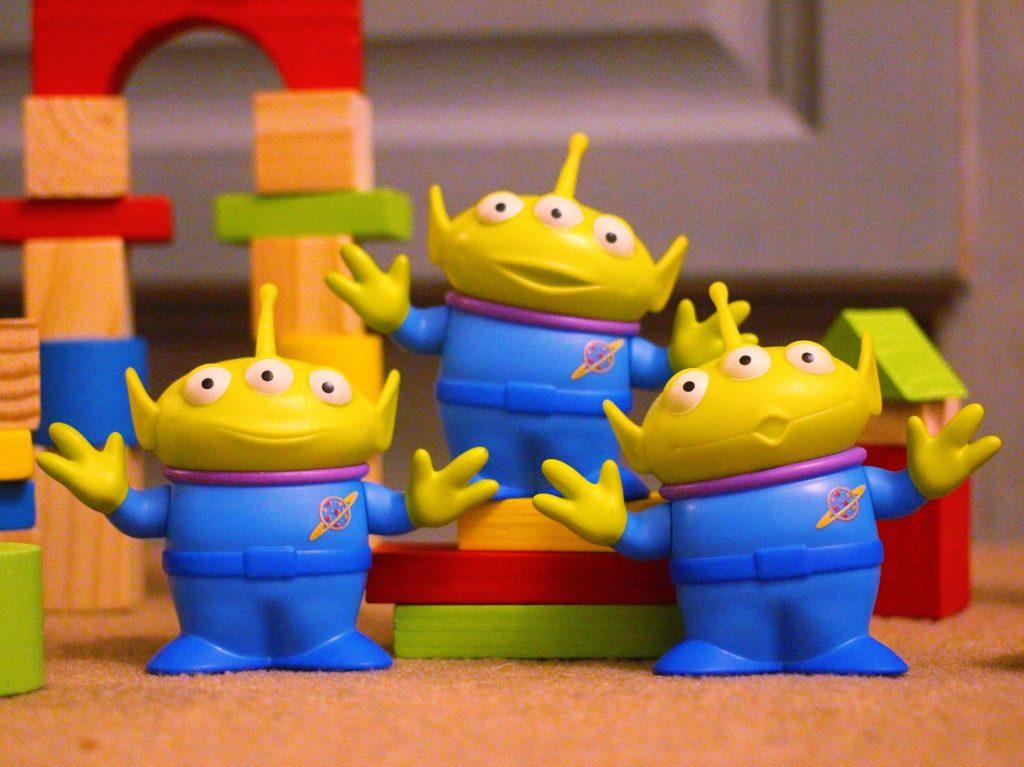 Mattel Aliens Figure Set