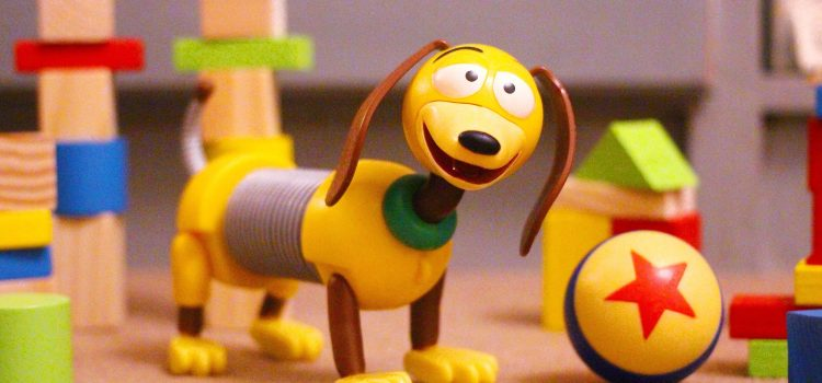 Mattel Slinky Dog Action Figure