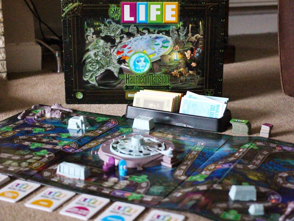 Haunted Mansion Game of Life – Disney Parks Board Game