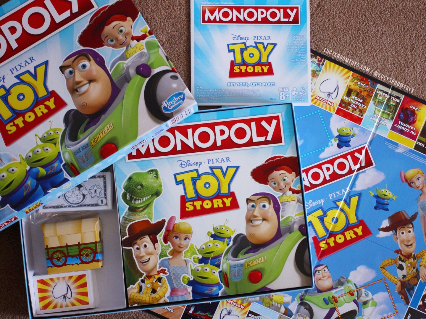 Toy Story Monopoly