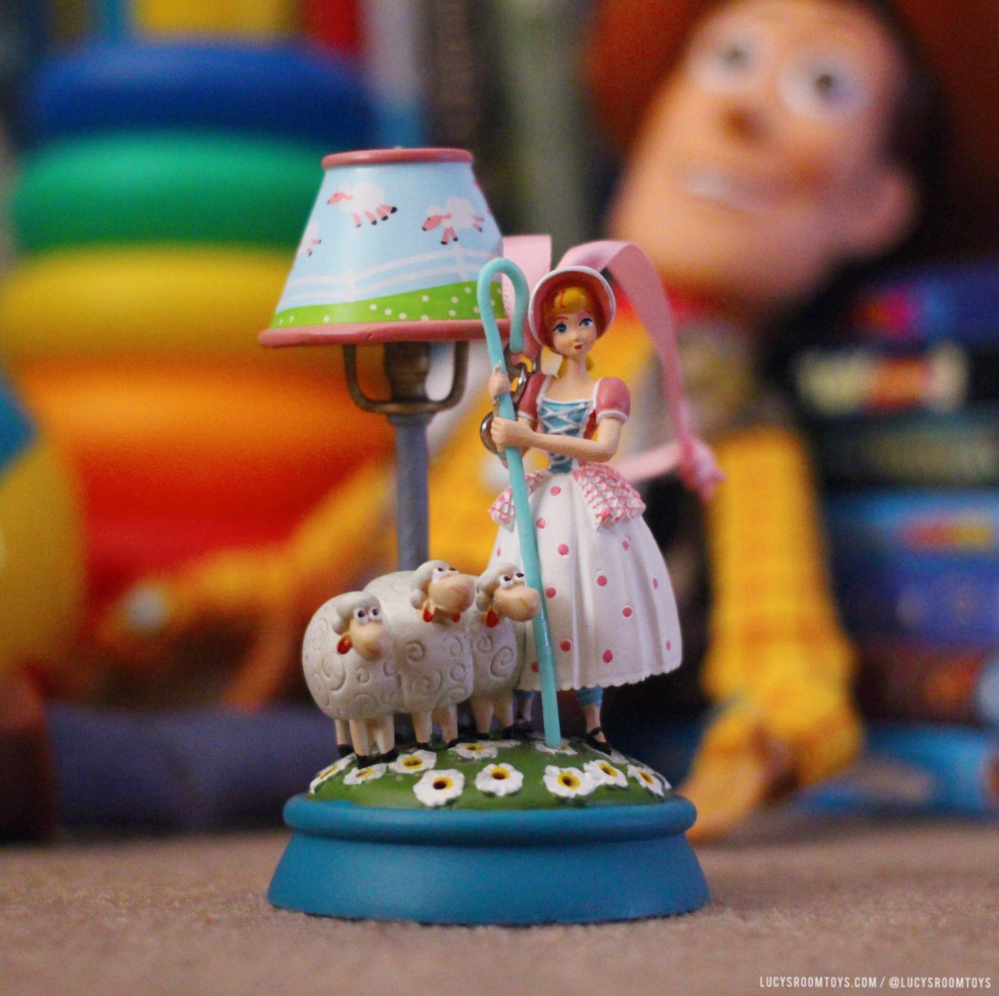 "ShopDisney ""Bo Peep Lamp"" Hanging Decoration"