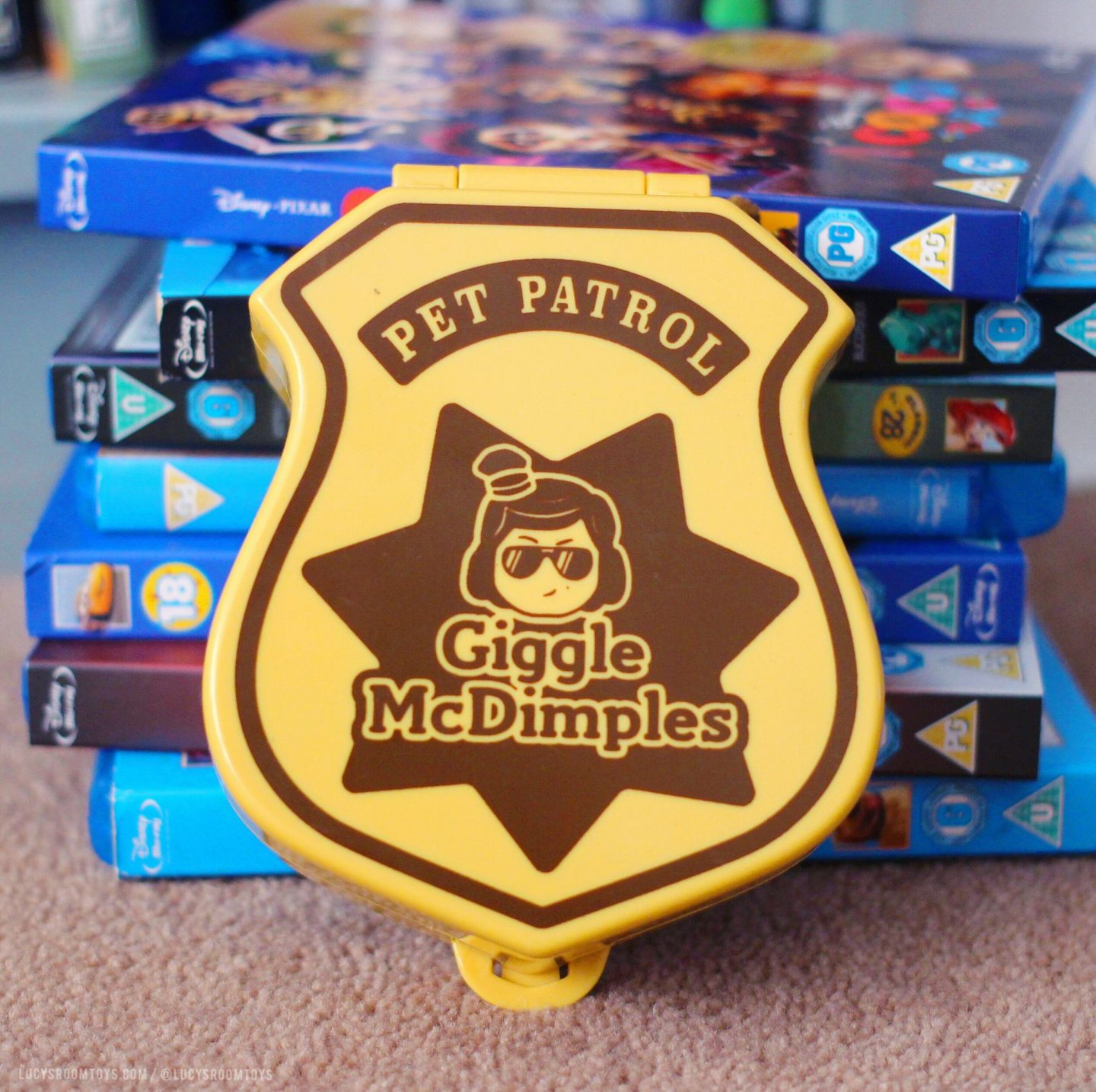 Giggle McDimples Pet Patrol Playset by Mattel