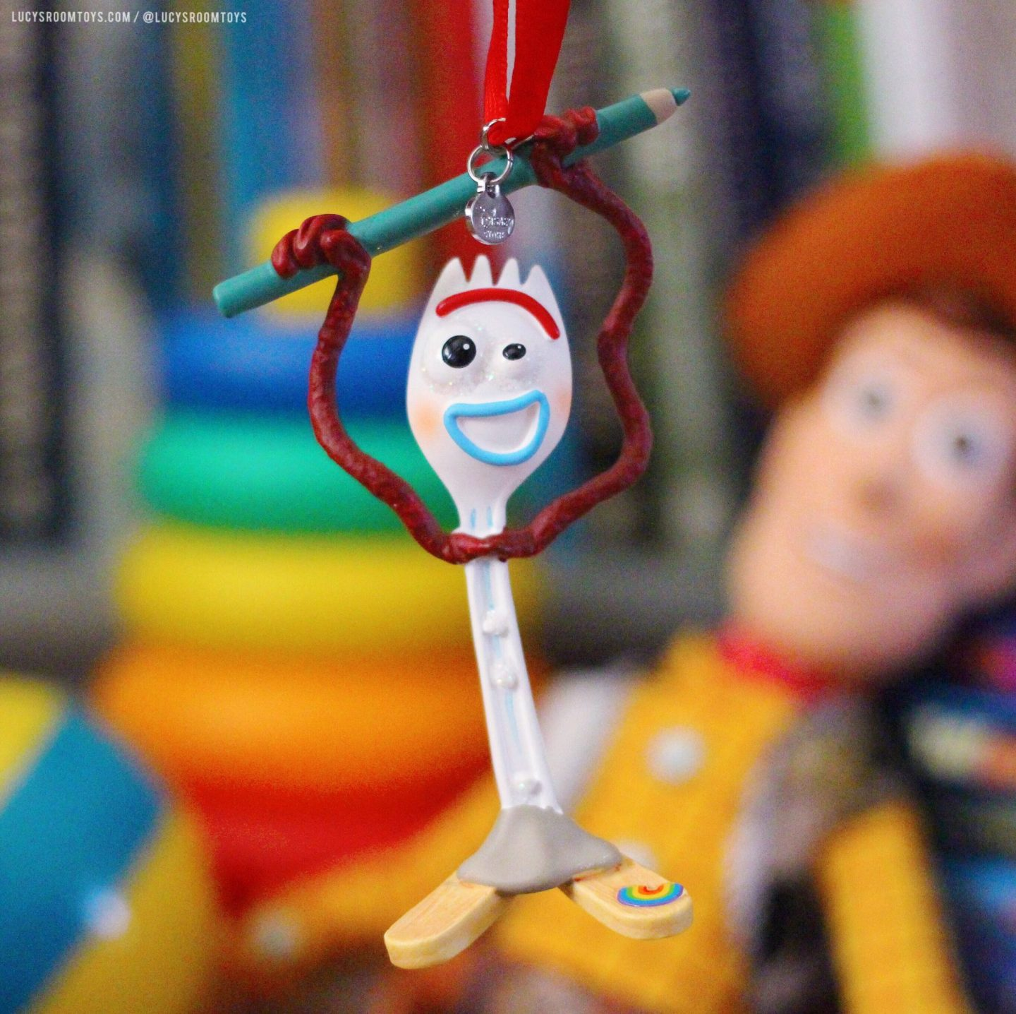 "ShopDisney ""Forky"" Hanging Decoration"