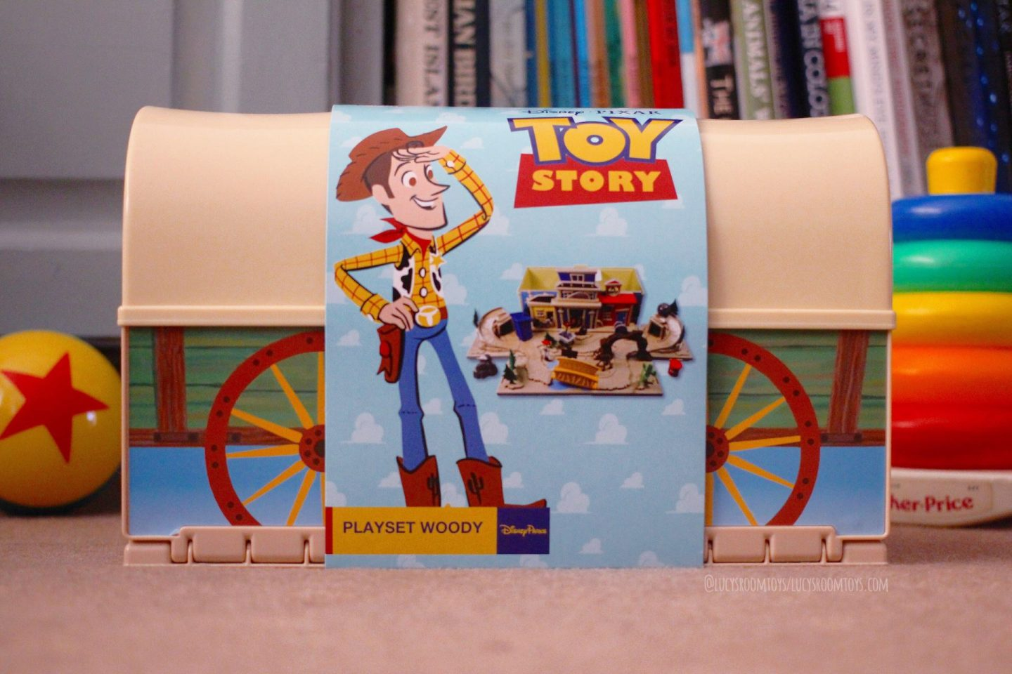 Disney Parks Woody's Roundup Playset