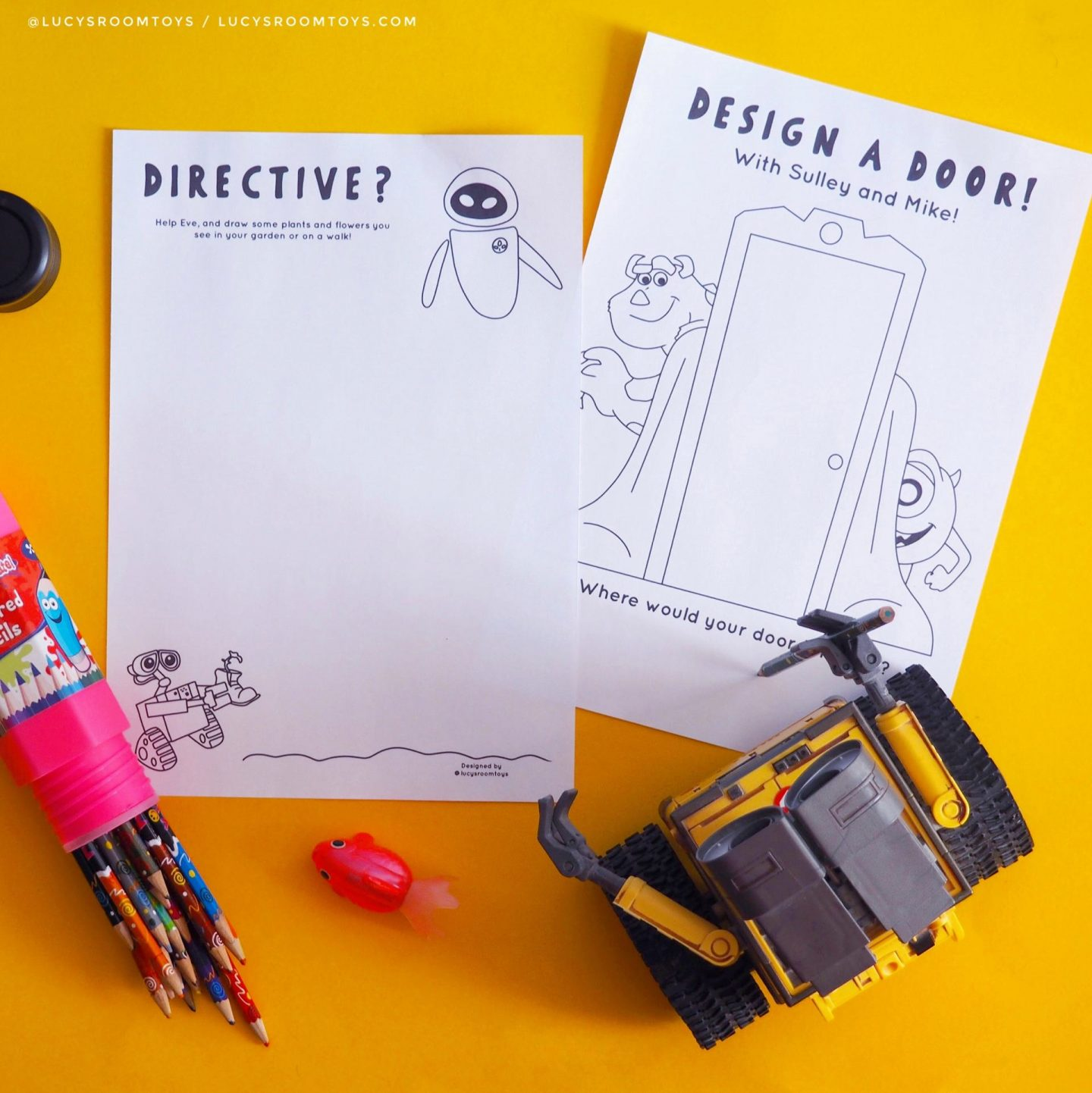 Free Printables! – Activity Sheets (Part 1) !