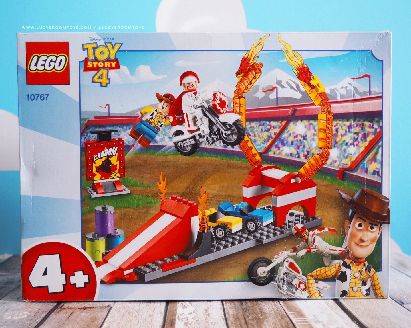 Toy Story 4 Duke Caboom Lego Set (10767)