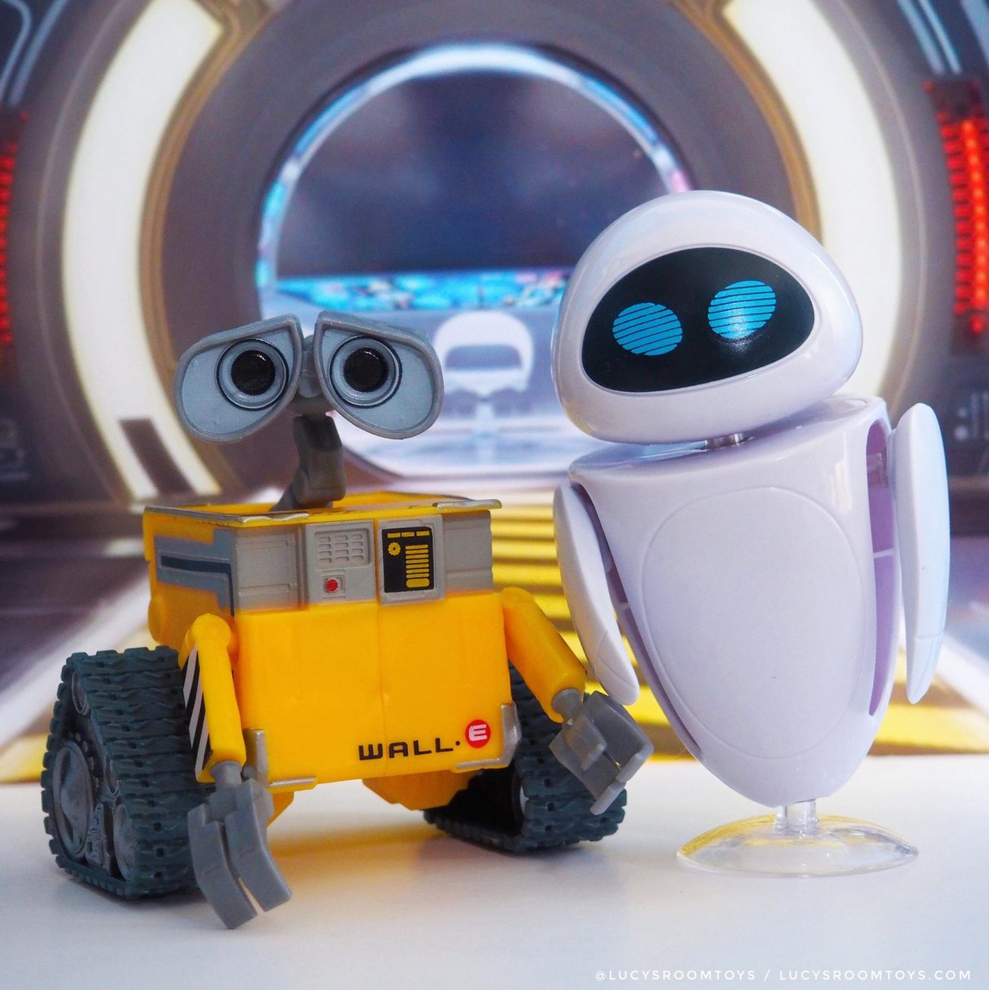 Mattel Wall-E and Eve Figure Pack