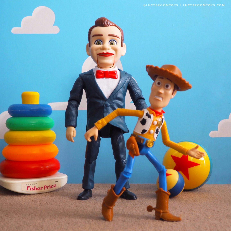 Mattel Toy Story 4 Benson & Woody Figure Set