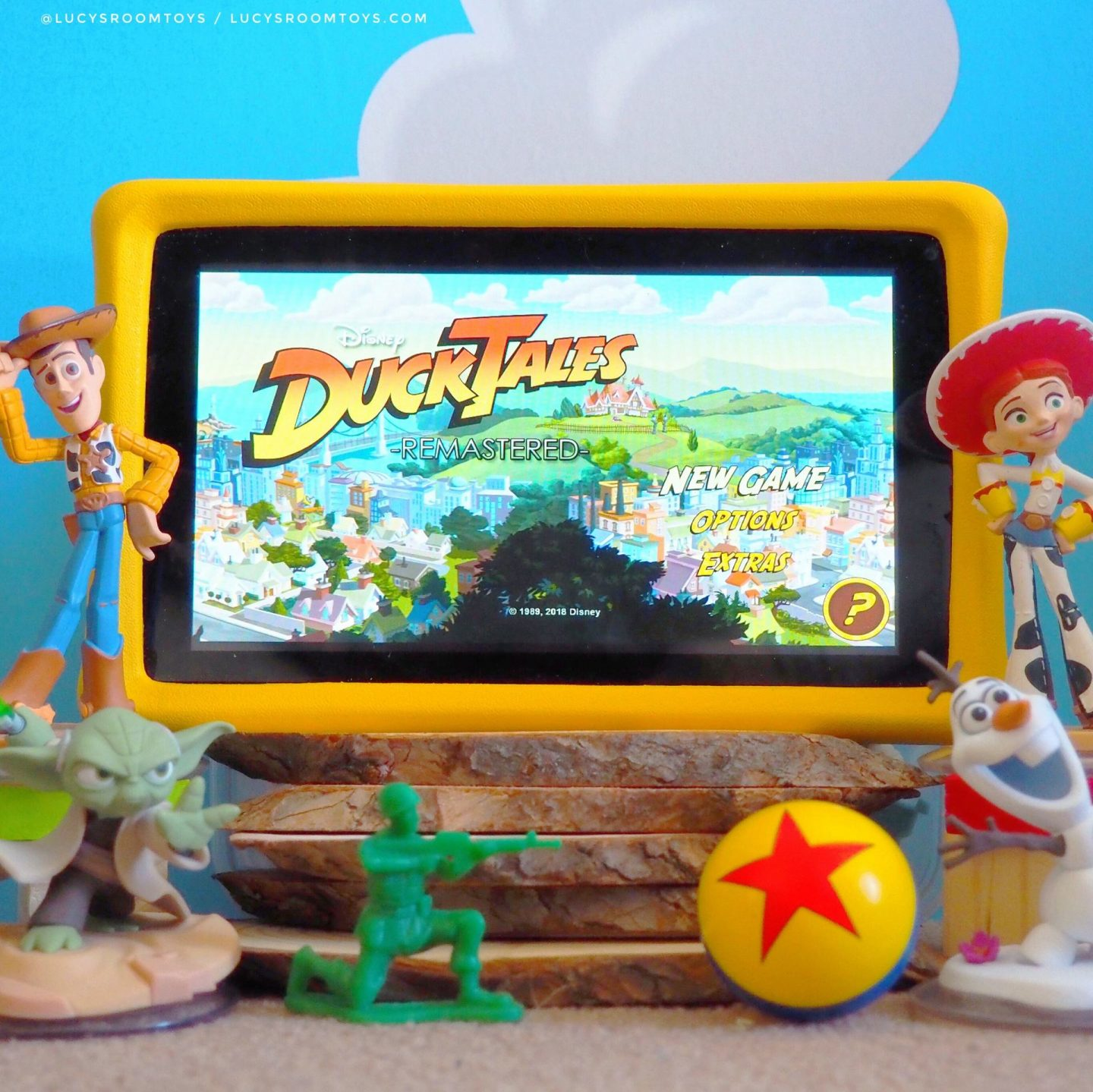 *Ad/PR Sample* PebbleGear Toy Story Tablet – My 10 Fave Games!