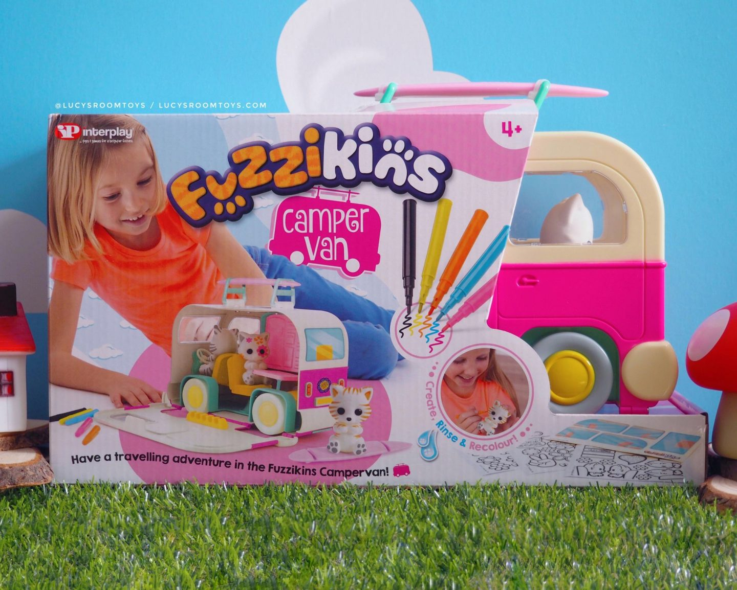 *Ad/Gifted* Fuzzikins Campervan by InterPlay