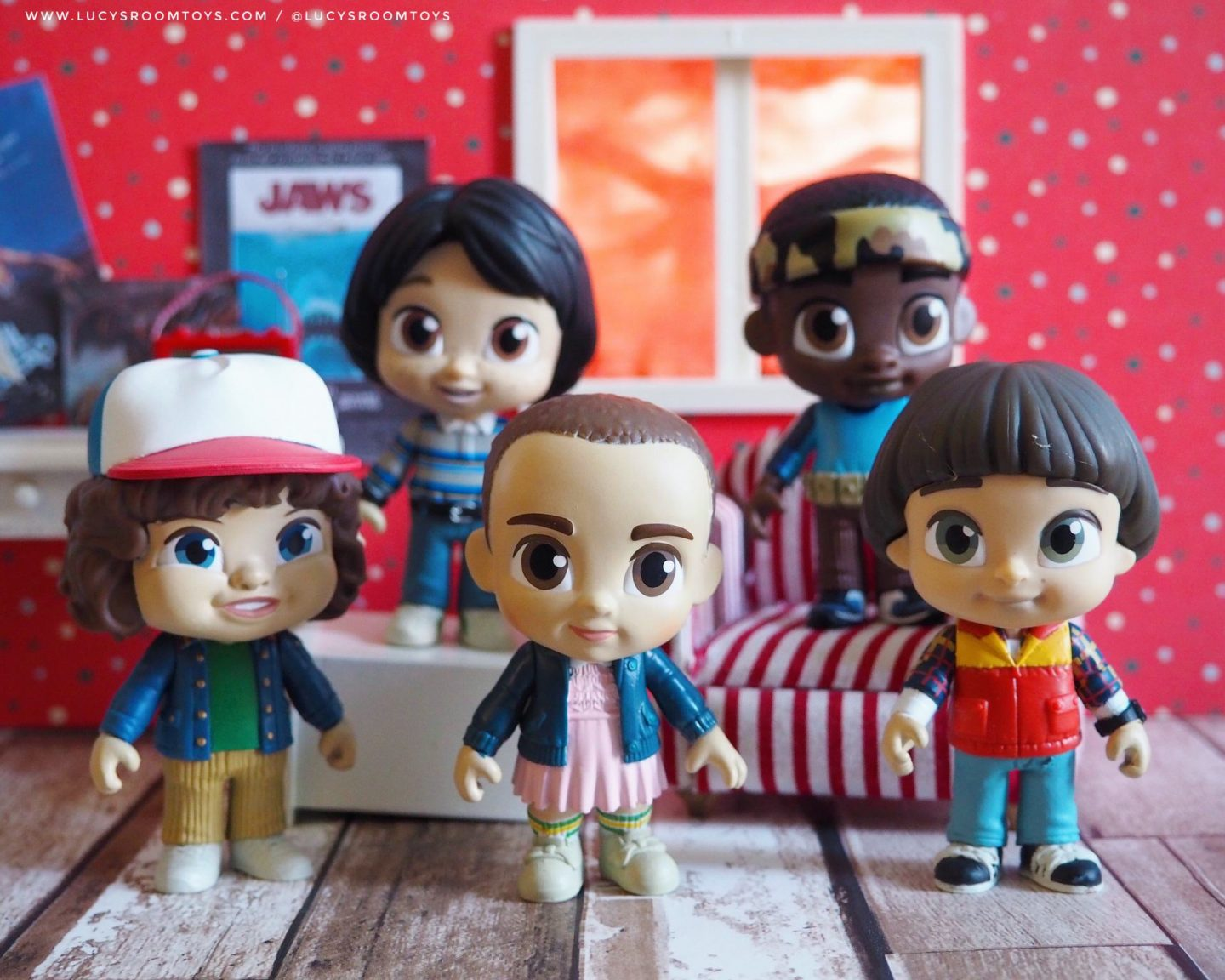 "Funko 5 Star ""Stranger Things"" Figures"