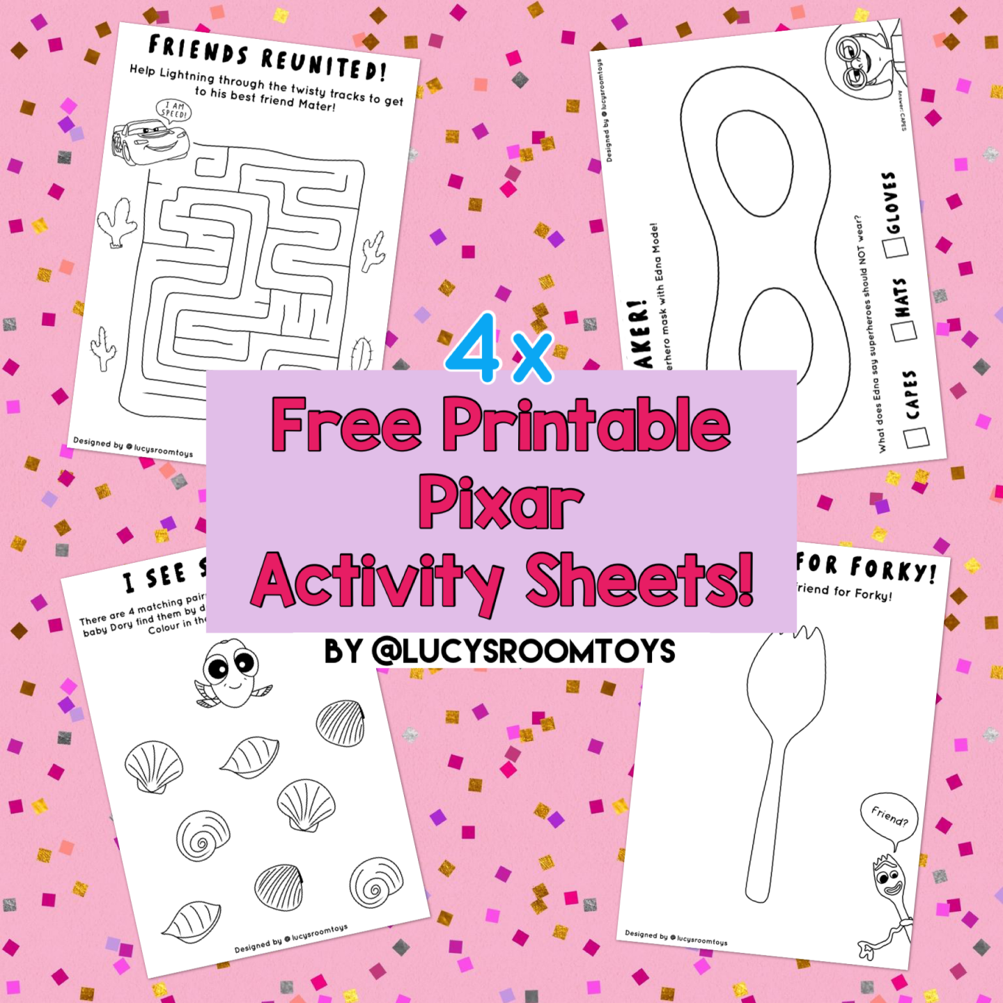 Free Printables! – Activity Sheets (Part 3)