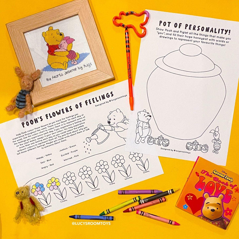 Saturday Scribbles – Pooh & Piglet
