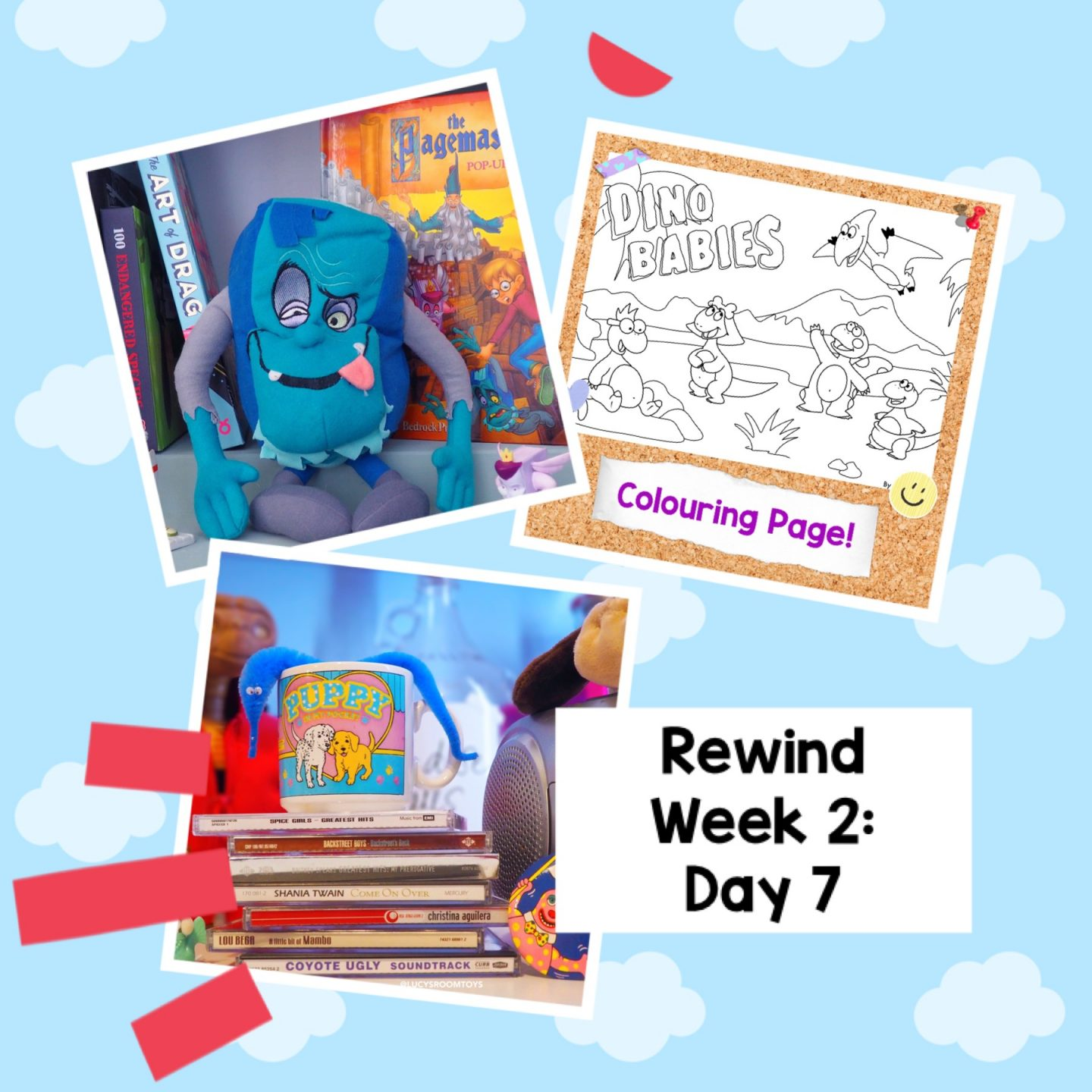 Rewind Week 2 – Day 7 (The Pagemaster, Dino Babies and Denver)