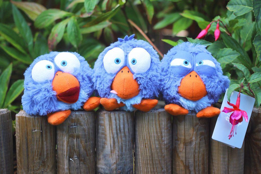 For the Birds Plush Set (Japan Disney Store)