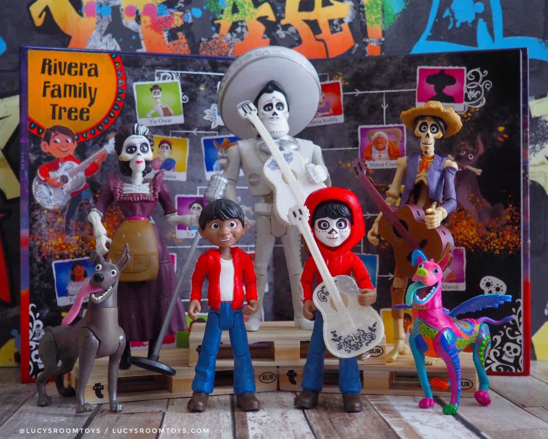 Mattel Coco Figures