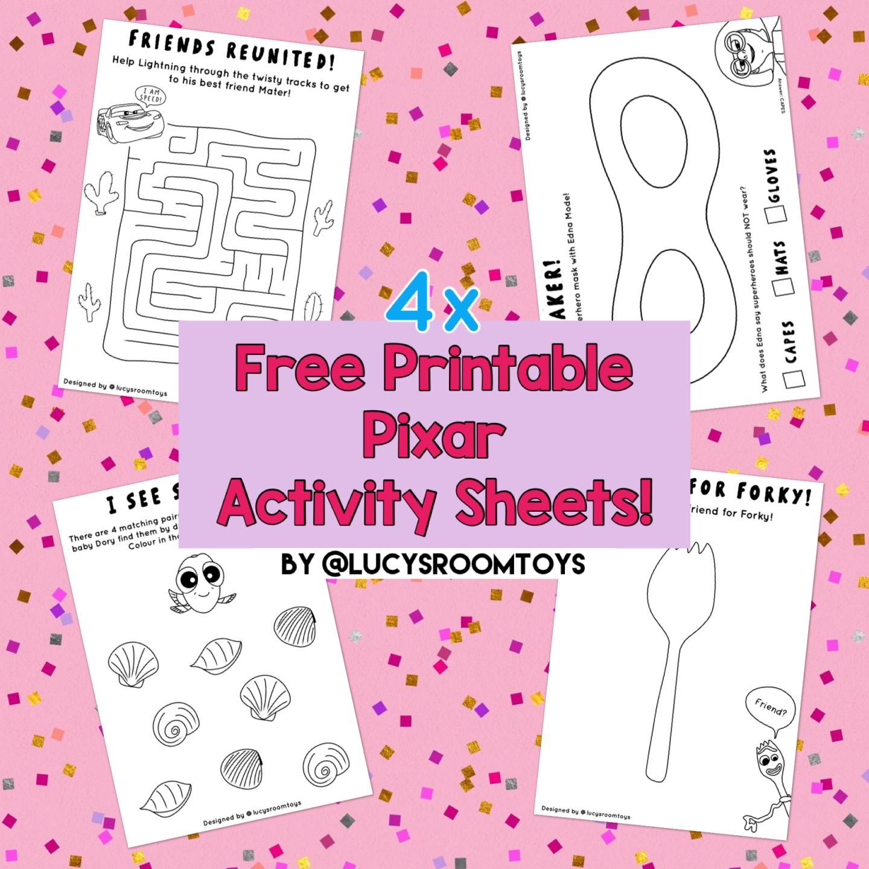 Free Printables! – Activity Sheets (Part 3)