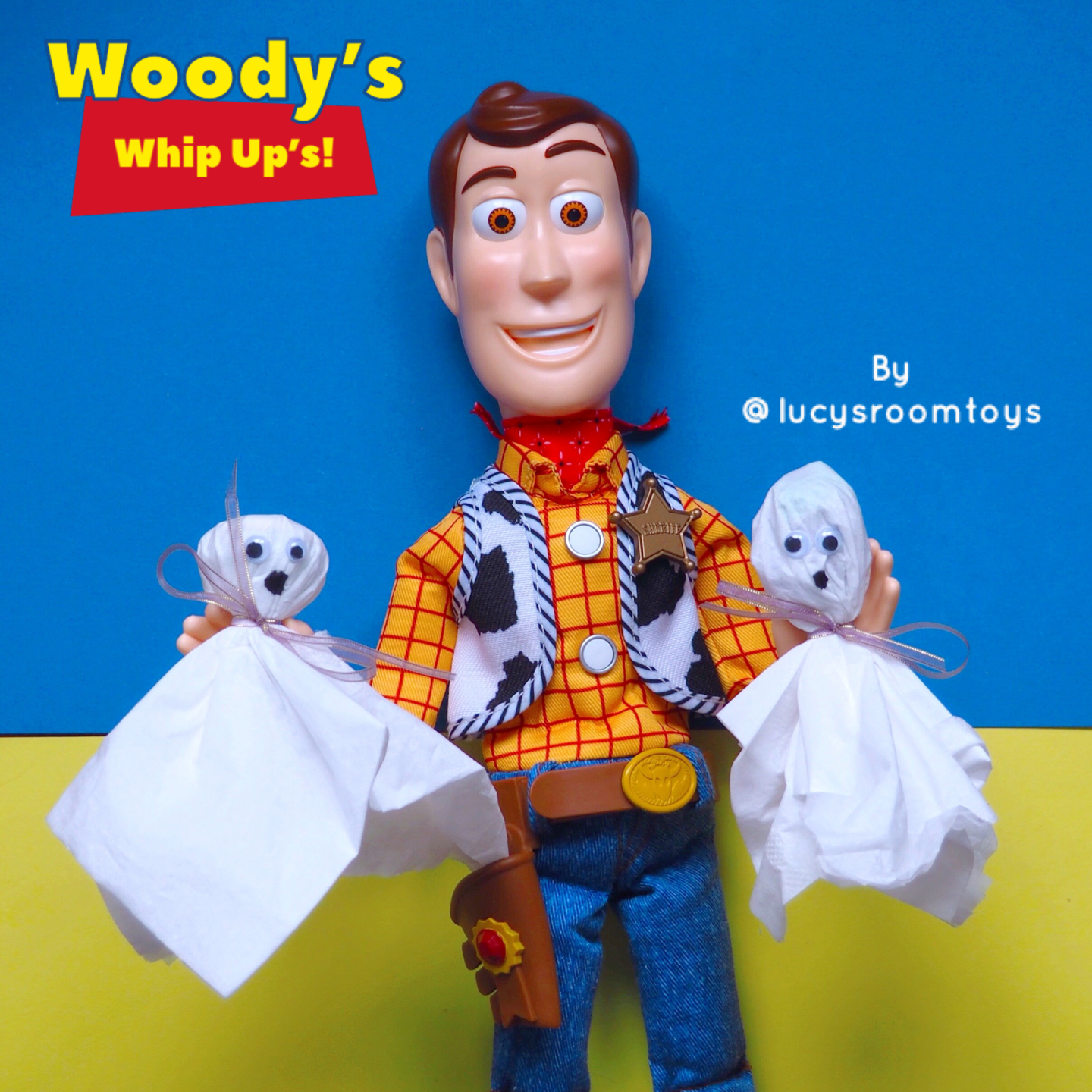 Woody's Whip Up's! – Lollipop Ghosts