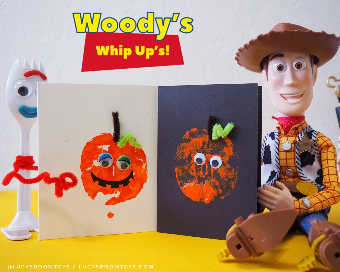 Woody's Whip Up's! – Pumpkin Cards