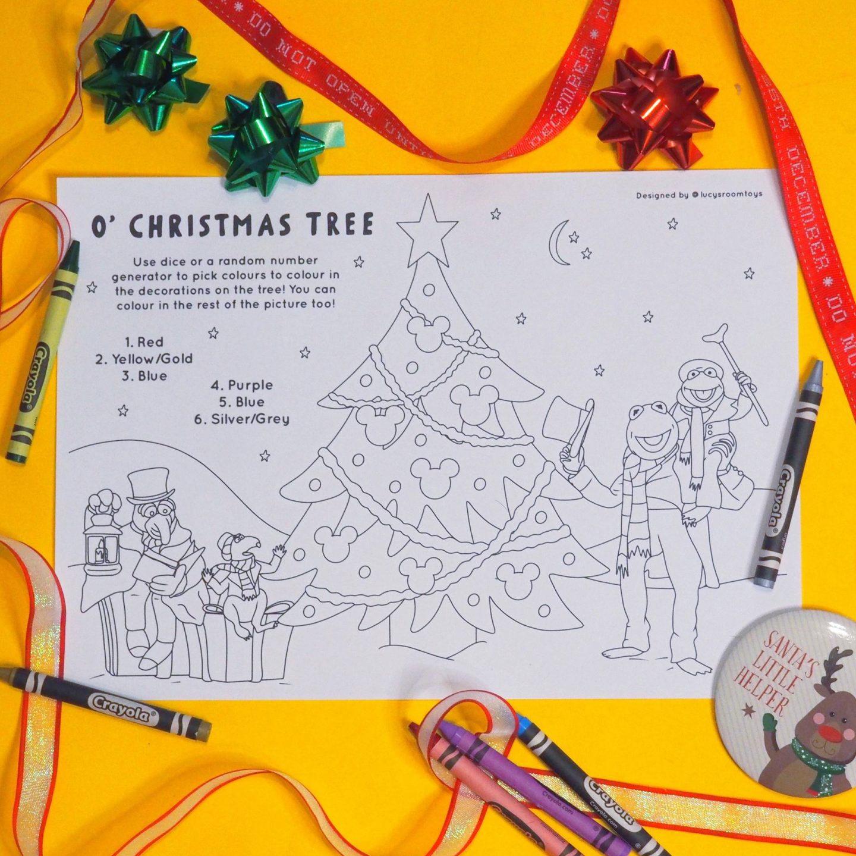 Saturday Scribbles – O' Christmas Tree