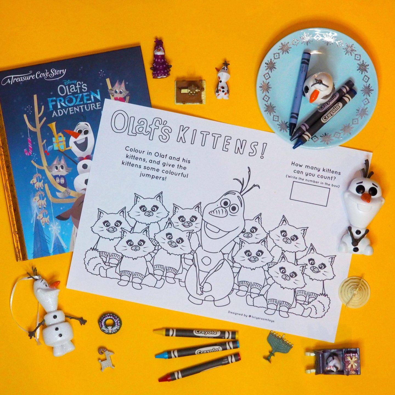 Saturday Scribbles – Olaf's Kittens!
